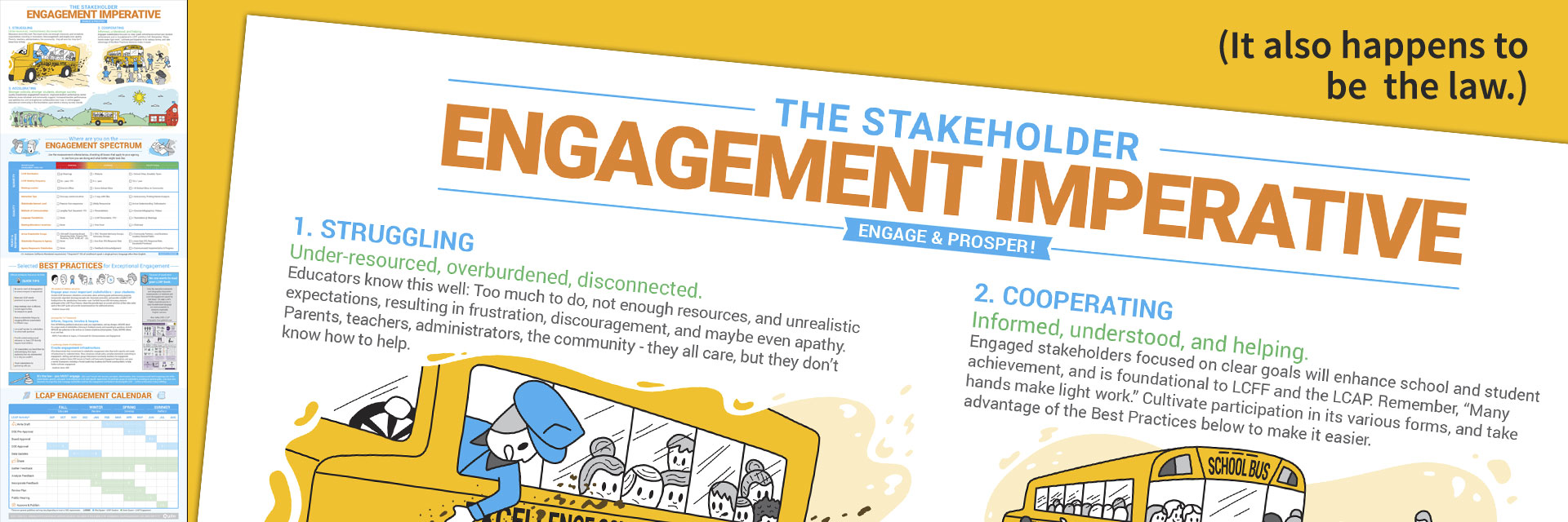 LCAP Stakeholder Engagement Imperative Infographic