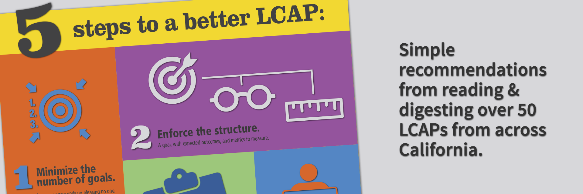 5 steps to a better LCAP